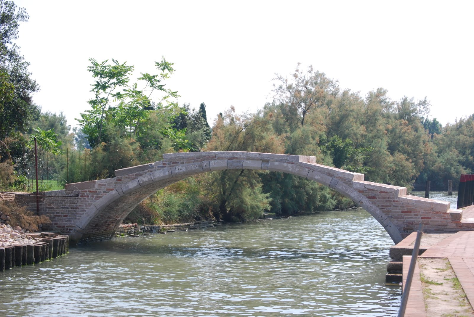 Il ponte beata vergine maria del perpetuo soccorso for Piani di fondazione del ponte